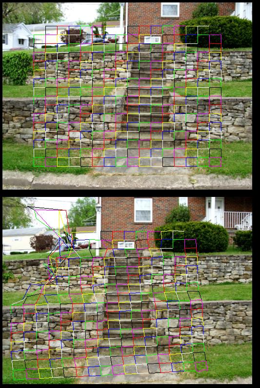StairsOpticalFlowGrid